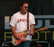 Kevin Layland on guitar